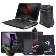 "ASUS ROG G703GI-XS98K 17.3"" Gaming Laptop - Core i9-8950HK,  GTX 1080 8GB, 144Hz 3ms G-SYNC Display, 512GB PCIe SSD + 2TB SSHD, 32GB DDR4"