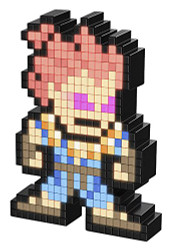 Pixel Pals Capcom Street Fighter AkumaCollectible Lighted Figure by PDP