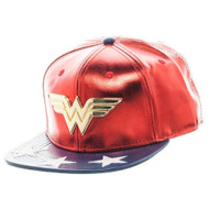 DC Comics Wonder Woman PU Faux Leather Snapback