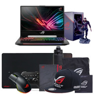 "ASUS ROG Strix Hero II GL504GM-DS74 15.6"" Gaming Laptop - 144Hz IPS-Type Slim Bezel Display, GeForce GTX 1060 6GB, Intel Core i7-8750H Processor (up to 3.9GHz), 256GB PCIe SSD + 1TB HDD, 16GB DDR4, RGB Keyboard"