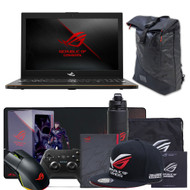 "ASUS ROG Zephyrus GM501GM-WS74 15.6"" Gaming Laptop - 144Hz IPS-Type G-SYNC Panel, GTX 1060 6GB, Intel Core i7-8750H (up to 3.9GHz), 256GB PCIe SSD + 1TB SSHD, 16GB DDR4 2666MHz"