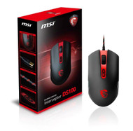 MSI Interceptor DS100 8 Buttons USB Wired Laser 3500dpi Gaming Mouse