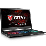 "MSI GS73 Stealth-016 17.3"" Gaming Laptop - Intel Core i7-8750H, GTX1070, 16GB DDR4, 256B NVMe SSD +2TB, Win10Pro, VR Ready (Open Box)"