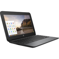 "HP 11.6"" Chromebook 11 G4 Education Edition - Celeron N2840 2.58 GHz,4GB DDR3L-1600, 16GB eMMC,11.6 LED HD SVA AG,UMA: HD,No Optical,802.11 a/b/g/n/ac+BT 4.0,BT,TPM,TV HD webcam,Chrome OS"