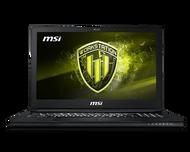 "MSI 15.6"" Mobile Workstation WS63 8SJ-018  - Core i7 8750H 2.2 GHz, Win 10 Pro, 32 GB RAM, 512 GB SSD NVMe, Quadro P2000, 802.11ac, Bluetooth, aluminum black"