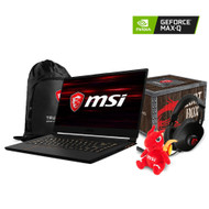 "MSI GS65 Stealth Thin-054 15.6"" Gaming Laptop - Intel Core i7-8750H, NVIDIA®  GeForce®GTX 1070 with Max-Q Design, 16GB DDR4, 256GB NVMe SSD,  Win 10, VR Ready, 144Hz 7ms"