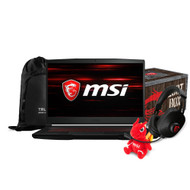"MSI GF63 8RD-066 15.6"" Gaming Laptop - Intel Core i7-8750H, GTX1050TI, 16GB DDR4, 1TB, Win10"