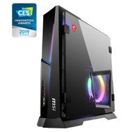 MSI Trident X 9SE-003US Gaming Desktop - Intel Core i7-9700K, RTX 2080 8GB GDDR6, 16GB DDR4, 256GB PCIe NVME SSD + 2TB HDD, Windows 10 Home