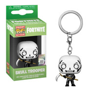 From Fortnite, skull trooper, stylized as a pop! Key chain from Funko! Complete your Squad with this great addition! Collect all Fortnite product from Funko!