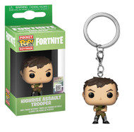 From Fortnite, high-rise assault trooper, stylized as a pop! Key chain from Funko! Complete your Squad with this great addition! Collect all Fortnite product from Funko!