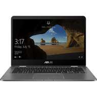 "ASUS ZenBook Flip 14 Ultra Slim Convertible Laptop 14"" Full HD WideView Touch, 8th-Gen Intel Core i7-8565U Processor, 16GB LPDDR3, 512GB NVMe PCIe SSD, GeForce MX150, Windows 10 - UX461UN-DS74T"