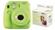 Fujifilm Instax Mini 9  Lime Green Instant Camera with 60 Film Pack