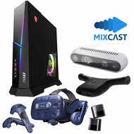 VR Streaming Kit - Intel Powered Desktop PC with Intel RealSense Webcam, Wireless Virtual Reality System