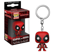 Funko Pocket Pop! Marvel Keychain Deadpool Playtime Deadpool with Sword