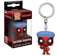 Funko Pocket Pop Marvel Keychain Playtime Deadpool Bath Time