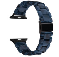 Navy Resin Band Bracelet for Apple Watch Series 4/3/2/1 (38mm/40mm)