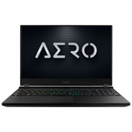 "GIGABYTE AERO 15.6"" UHD Gaming Laptop - AMOLED, i9-9980HK, RTX 2080 Max-Q GDDR6 8GB, 64GB DDR4 2666MHz RAM, M.2 PCIe 1TB SSD, Windows 10 Pro, AERO 15 OLED YA-9US5750SP"