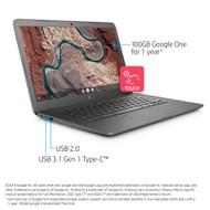 "HP Chromebook 14-db0060nr - 14"" - A4 9120C - 4 GB RAM - 32 GB SSD - US"