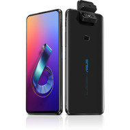 "ASUS ZenFone 6, 6.4"" FHD+ 2340x1080 All-screen NanoEdge Display - 48MP Flip Camera - 6GB RAM - 128GB storage - LTE Unlocked Dual SIM Cell Phone - US Warranty - ZS630KL-S855-6G128G-BK"
