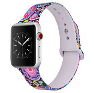 LUXE Paisley Silicone Printed Band for Apple Watch 42mm Series 5/4/3/2/1