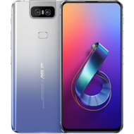 "ASUS ZenFone 6, 6.4"" FHD+ 2340x1080 All-screen NanoEdge Display - 48MP Flip Camera - 6GB RAM - 128GB storage - LTE Unlocked Dual SIM Cell Phone - US Warranty - ZS630KL-S855-6G128G-SL"
