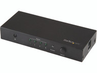 StarTech.com HDMI 2.0 Switch - 4 Port - 4K 60Hz - HDMI Automatic Video Switch Box - Multi Port Hub w/ 1 In 4 Out Functionality (VS421HD20) - video/audio switch - 4 ports