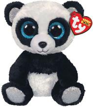 TY Beanie Boos - BAMBOO the Panda (Blue Glitter Eyes - Silver Feet)(Regular Size - 6 inch)