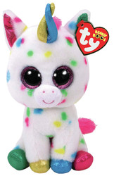 TY Beanie Boos - HARMOINE the Unicorn (Glitter Eyes) (Regular Size - 6 in)