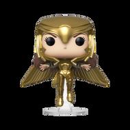 Funko POP! Heroes: Wonder Woman 1984 - WW Gold Flying (MT)