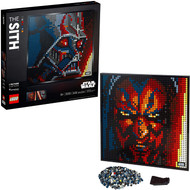 LEGO Art Star Wars The Sith 31200 Canvas Art Set Building Toy for Adults (3,395 Pieces)
