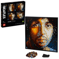 LEGO Art The Beatles 31198 Collectible Creative Beatles Canvas Wall Art Building Toy (2,933 Pieces)