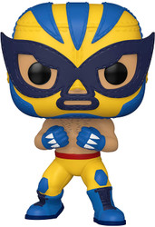 Funko Pop Marvel Luchadores Wolverine Collectable Toy 53873