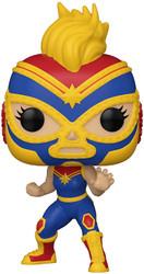 La Estrella Cosmica - Captain Marvel (Marvel Luchadores) Funko Pop!