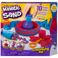 Kinetic Sand Sandisfying Set with 2lbs of Sand and 10 Tools