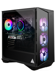 "MSI Aegis R 10SC-017US Gaming Desktop - Intel Core i7-10700KF Processor, NVIDIA GeForce RTX 2060 S 8GB GDDR6 256-bit, 16GB DDR4 (2 x 8GB) 3000 MHz, 512GB 2.5"" SATA SSD, 1 TB HDD, Windows 10 Home, AEGISR10SC017"