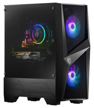 "MSI Codex R 10SI-003US Gaming Desktop, Intel Core i5-10400F Processor, NVIDIA GeForce GTX 1660 S 6GB GDDR6 192-bit, 8GB DDR4 (1 x 8GB) 3000 MHz, 512GB 2.5"" SATA SSD, Windows 10 Home, CODEXR10SI003"