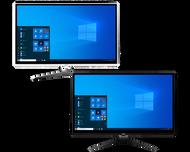 """MSI PRO 22XT 10M-074US PC, Intel Core i3-10100 Processor, Intel® UHD, 8GB DDR4 (1 x 8GB) , 1TB (2.5"""" 7200 RPM) HDD, Windows 10 Home, PRO22XT10M074US"""