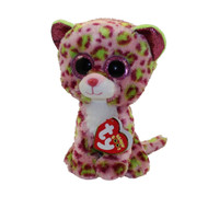 TY Beanie Boos - LAINEY the Leopard (Glitter Eyes)(Regular Size - 6 inch)
