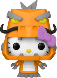Funko POP! Sanrio: Hello Kitty Kaiju - Mecha Kaiju, Multicolour (49836)