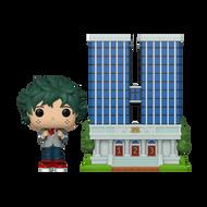 Funko POP! Town: My Hero Academia - U.A. High School with Deku in Uniform