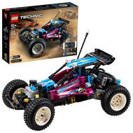 LEGO Technic Off-Road Buggy 42124 Model Building Toy; App-Controlled