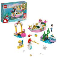 LEGO Disney Ariel's Celebration Boat 43191; Creative Building Toy for Kids (114 Pieces)