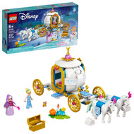 LEGO Disney Cinderella's Royal Carriage 43192; Creative Building Toy Makes a Great Gift (237 Pieces)