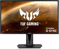 "Asus TUF Gaming VG27AQ 27"" Monitor, 1440P WQHD (2560 x 1440), IPS, 165Hz (Supports 144Hz), G-SYNC Compatible, 1ms, Extreme Low Motion Blur Sync, Eye Care, DisplayPort HDMI"