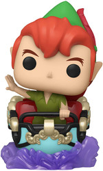Funko Pop! Ride: Disney 65th - Peter & Flight Car