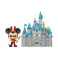 Funko POP! Town: Disney 65th - Castle w/ Mickey