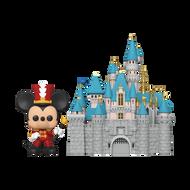 Funko POP! Town: Disney 65th - Castle w/ Mickey