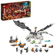 LEGO NINJAGO Skull Sorcerer's Dragon 71721 Ninja Dragon Building Toy