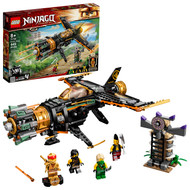 LEGO NINJAGO Legacy Boulder Blaster 71736 Airplane Toy