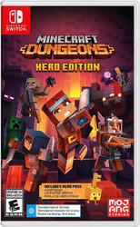Minecraft Dungeons Hero ED, Mojang, Nintendo Switch